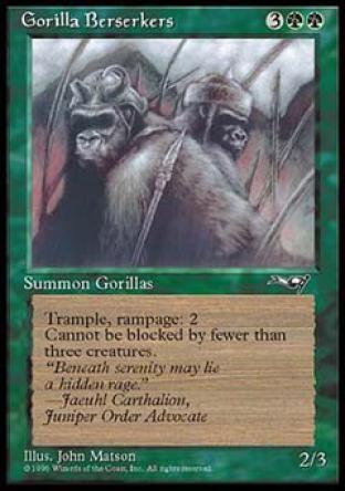 Gorilla Berserkers (2)