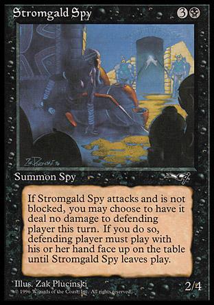 Stromgald Spy
