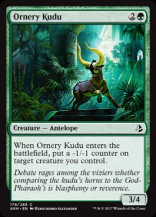 Ornery Kudu