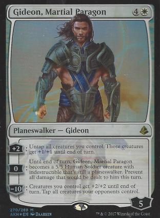 Gideon Martial Paragon