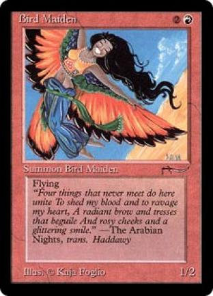 Bird Maiden (dark circle)