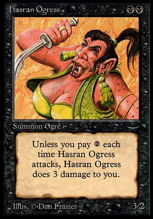 Hasran Ogress (dark circle)