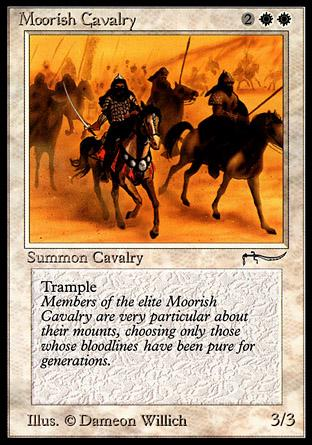 Moorish Cavalry (dark circle)