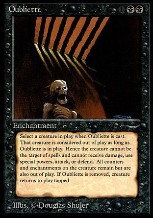 Oubliette (dark circle)