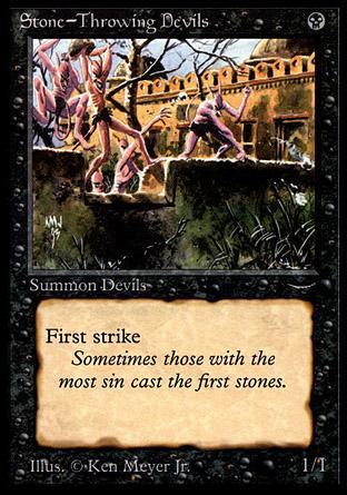 Stone-Throwing Devils (light circle)