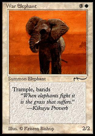 War Elephant (dark circle)