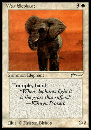 War Elephant (light circle)