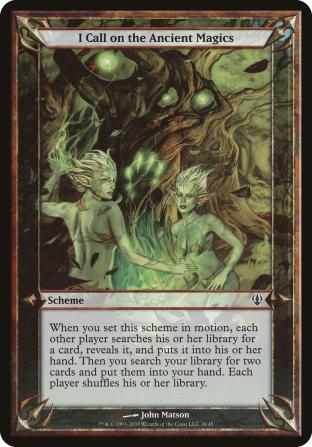 I Call on the Ancient Magics (Scheme)