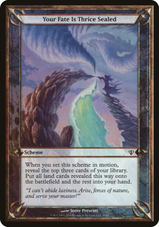 Your Fate Is Thrice Sealed (Scheme)