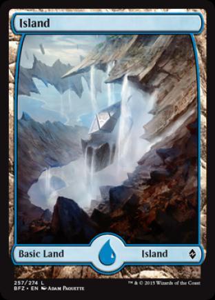 Island (257) (Full Art)
