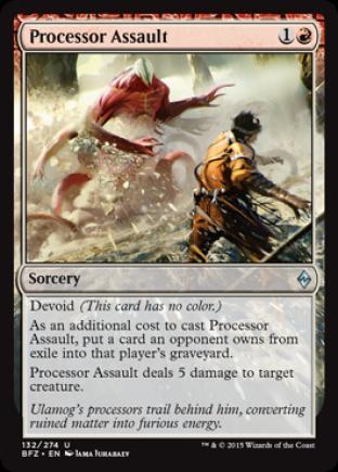 Processor Assault