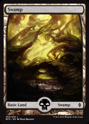 Swamp (260) (Full Art)