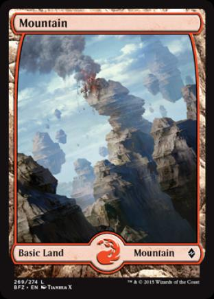 Mountain (269) (Full Art)