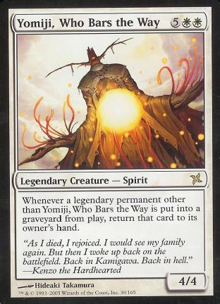 Yomiji, Who Bars the Way