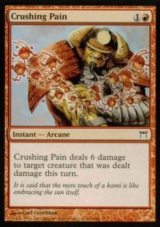 Crushing Pain