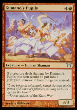 Kumano's Pupils