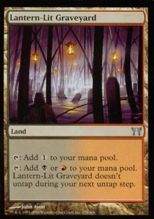 Lantern-Lit Graveyard