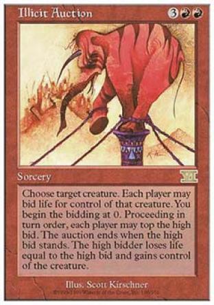 Illicit Auction