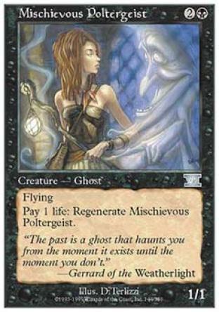 Mischievous Poltergeist