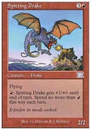 Spitting Drake