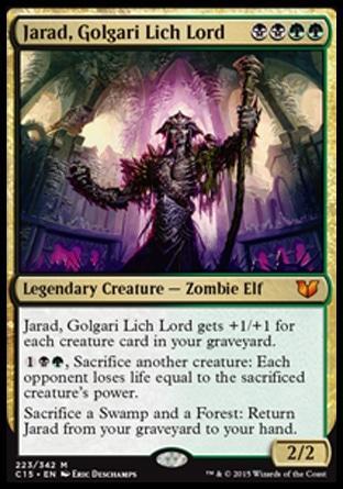 Jarad, Golgari Lich Lord