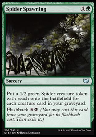 Spider Spawning