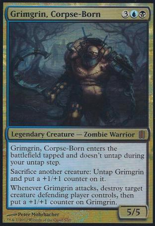 Grimgrin Corpse-Born (Oversized Foil Card)