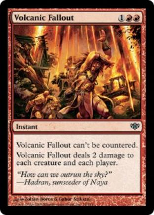 Volcanic Fallout