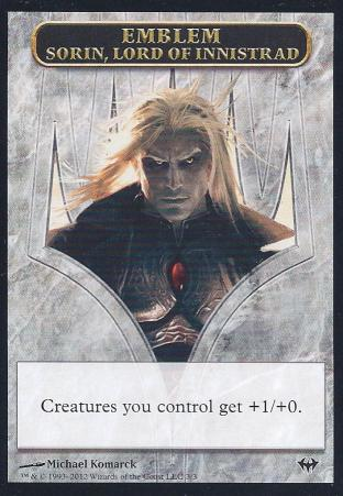 Emblem Sorin Lord of Innistrad