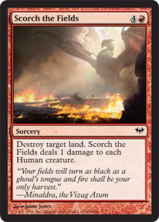 Scorch the Fields
