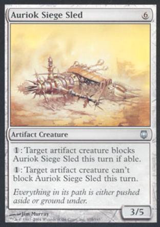 Auriok Siege Sled