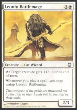 Leonin Battlemage