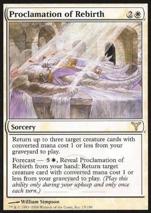 Proclamation of Rebirth