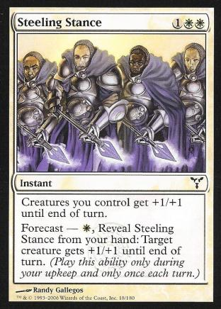 Steeling Stance