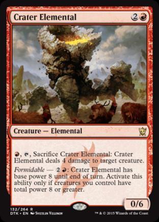 Crater Elemental