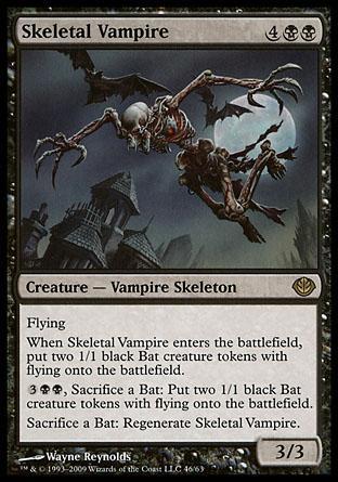 Skeletal Vampire