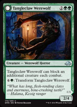 Tangleclaw Werewolf