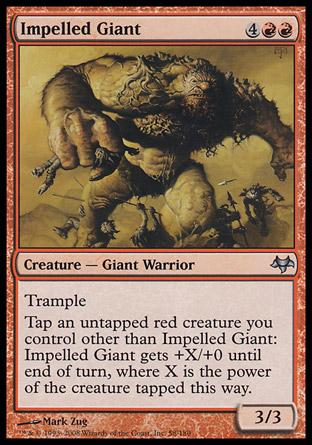 Impelled Giant