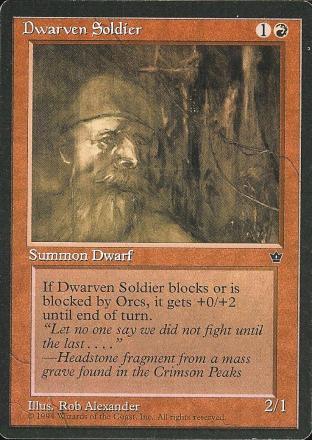 Dwarven Soldier (1)