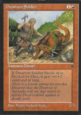 Dwarven Soldier (2)