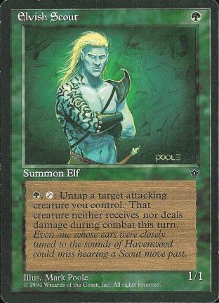 Elvish Scout (1)