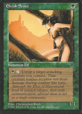 Elvish Scout (2)