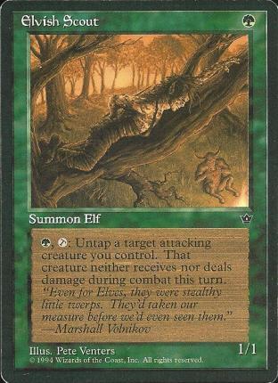 Elvish Scout (3)