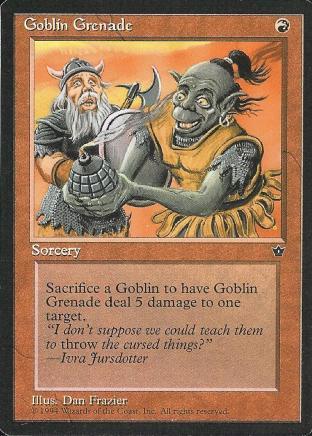 Goblin Grenade (1)