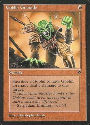 Goblin Grenade (2)