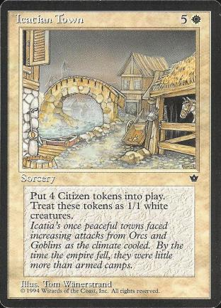 Icatian Town