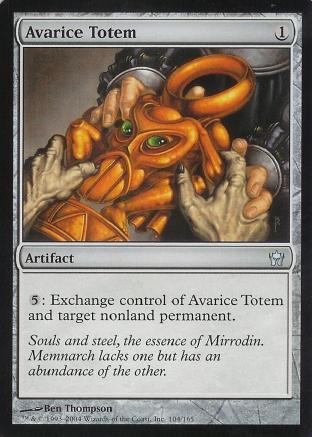 Avarice Totem