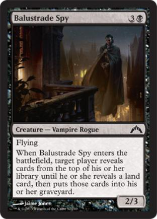 Balustrade Spy