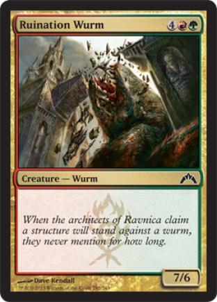 Ruination Wurm (2)