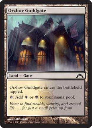 Orzhov Guildgate (2)